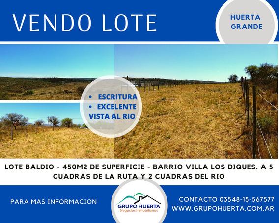 Terreno En Huerta Grande