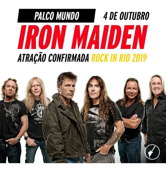 Iron Maiden - Dvd Rock In Rio 2019 Hd Original + Cd Brinde
