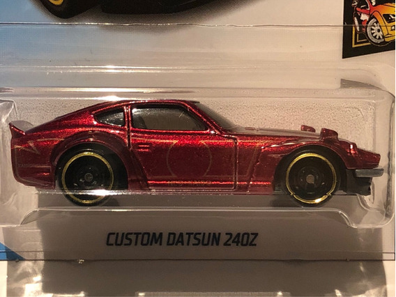 Hot Wheels Custom Datsun 240z Nightburnerz - Vinho