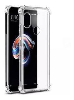 Estuche Motorola Moto One Transparente Esquinas Reforzadas
