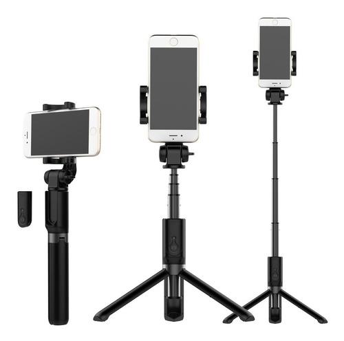 Tripé Suporte P/ Celular E Camêra 360° C/ Controle Bluetooth