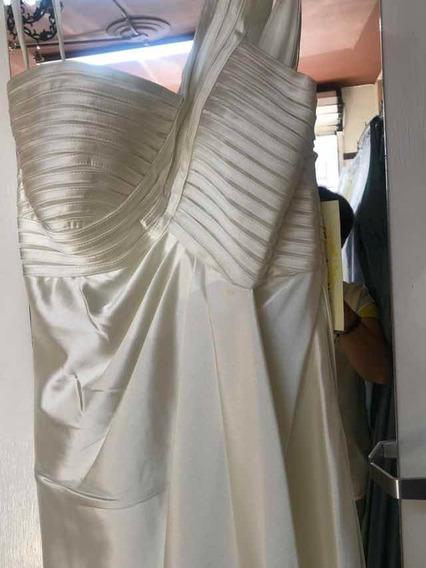 Hermoso Vestido En Corte Griego, Un Hombro, Cinderella Divin