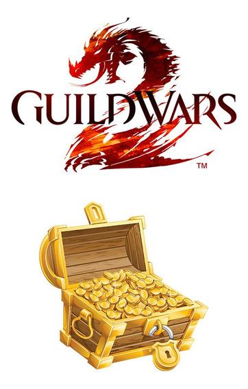Guild Wars 2 500 Gold Ouro Gw2 Mmorpg Digital Multijogador Ncsoft Online