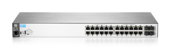 Switch Hp 24 Puertos Gigabit 10/100/1000 2530 24g J9776a Mg