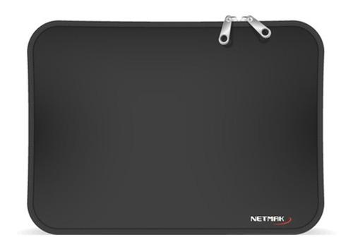 Imagen 1 de 3 de Funda Neoprene Tablet 7  Negro C/ Cierre Nm-f865 - Aj Hogar
