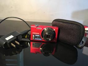 Câmera Digital Samsung Sh100 Vermelha