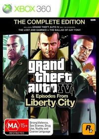 Jogo X-box Grand Theft Auto Iv E Episodes From Liberty City