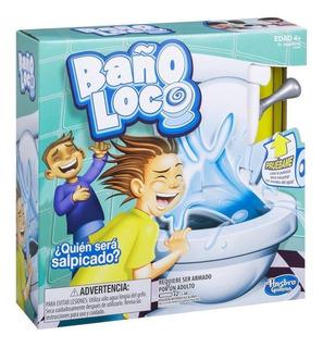 Juego De Mesa Baño Loco Juegos Infantiles Hasbro Original