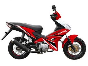 Moto Axxo Jet 125cc Año 2019 Ro/ne/bl