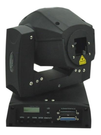 Moving Laser Gráfico Animado Azul 500mw Laser Show