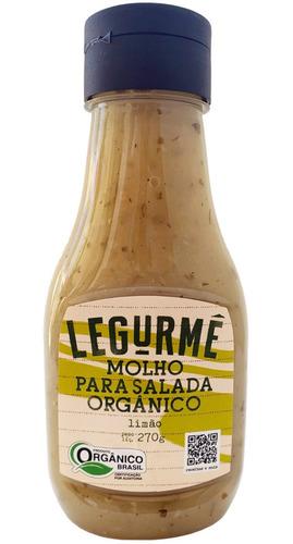 Molho Org Salada Limão 270g