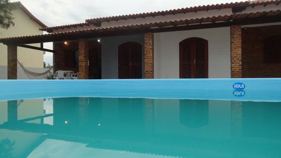 Casas Novas C/ Piscina Em Itaúna, Saquarema, 2 Quartos