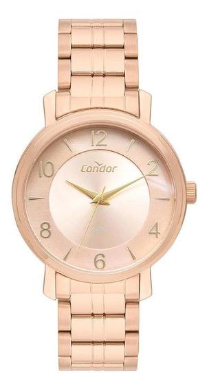 Relógio Feminino Condor Bracelete Rosé - Original
