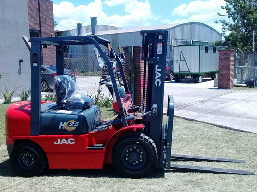 Autoelevador Jac Forklift- 2,5 Toneladas Motor Xinchai C490