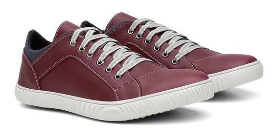 Tênis Sapatênis Casual Masculino Conforto Sapato Exclusivo