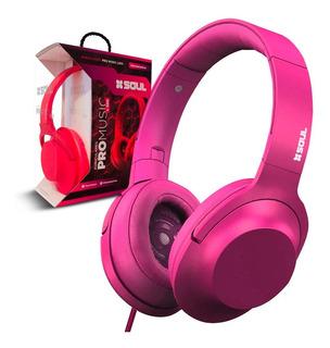 Auriculares Soul ® Plegables Con Cable Desmontable Microfono