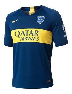 Camiseta De Boca Juniors Titular Oficial 2018-2019 Stadium