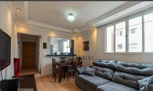 Imagem 1 de 20 de Apartamento Com 2 Dormitórios Para Alugar, 56 M² Por R$ 2.200,00/mês - Vila Príncipe De Gales - Santo André/sp - Ap2052