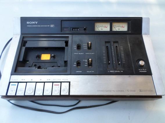 Sony Cassette Stereo Corder Tc-135sd