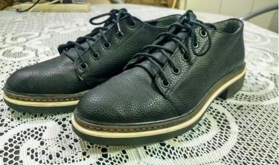 Zapatos De Vestir Nazaria Acordonados Nro39 Mujer