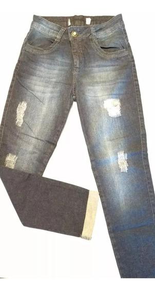 Calça Jeans Cigarrete Biotipo Etiqueta Cortada Tam 38! Nova