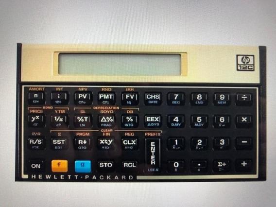 Calculadora Hp 12c (seminova)