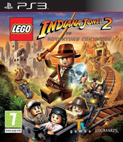 Jogo Infantil Ps3 Lego Indiana Jones 2 Adventure Continues