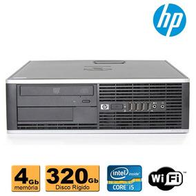 Cpu Desktop Hp Intel Core I5 4gb Ddr3 320gb Leitor Dvd Wifi