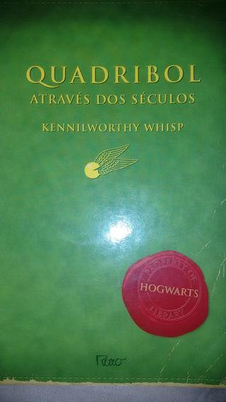 Livro Quadribol Através Dos Séculos Da Saga Harry Potter