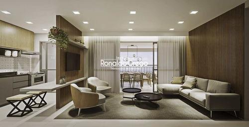 Apartamento Á Venda Com 3 Dorms, Tatuapé- R$ 1.03 Mi. - V4385
