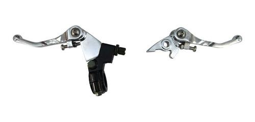 Levas Rebatibles Aluminio Embrague Con Soporte Y Freno Disco
