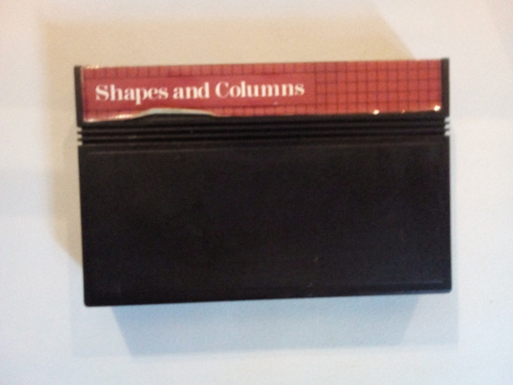 Shapes And Columns - Cartucho Para Master System