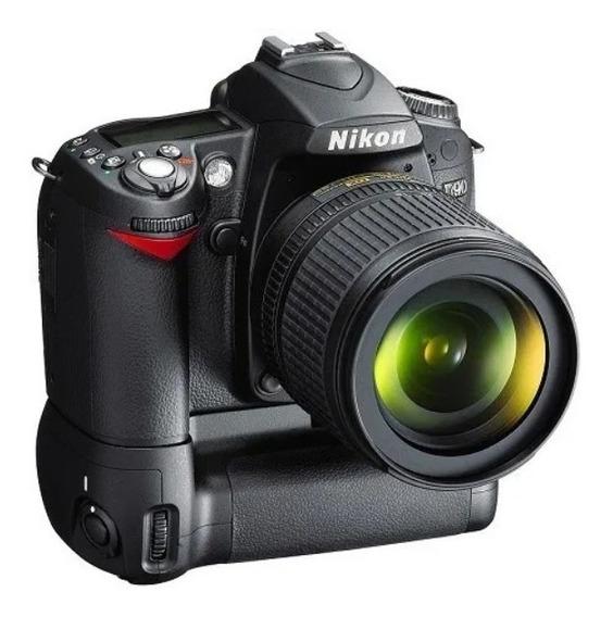 Nikon D90 + Lente Af Micro Nikkor 105 + Grip + Luva Proteção