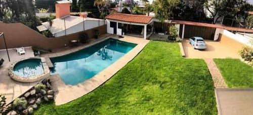 Casa Hermosa Con Alberca En Cuernavaca Excelente Zona