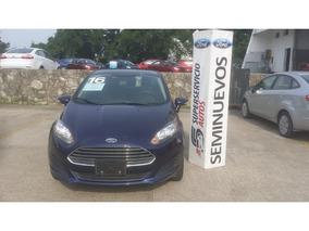 Ford Fiesta Se 5-ptas Mt 2016 Seminuevos