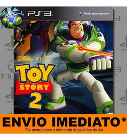 Jogo Ps3 Disney Pixar Toy Story 2 Psn Play 3 Mídia Digital