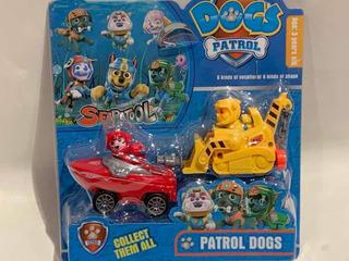Paw Patrol , Patrulla Canina , Autos A Escala Genericos