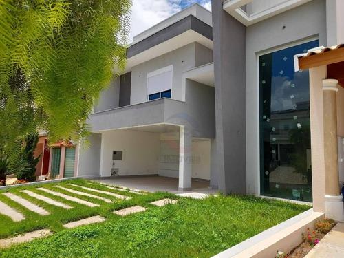 Casa Com 3 Dormitórios À Venda, 218 M² Por R$ 1.690.000,00 - Condomínio Amstalden Residence - Indaiatuba/sp - Ca11428