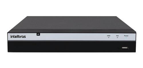 Nvr Gravador Intelbras Nvd 3208 P Ip 1080p 8 Portas Poe