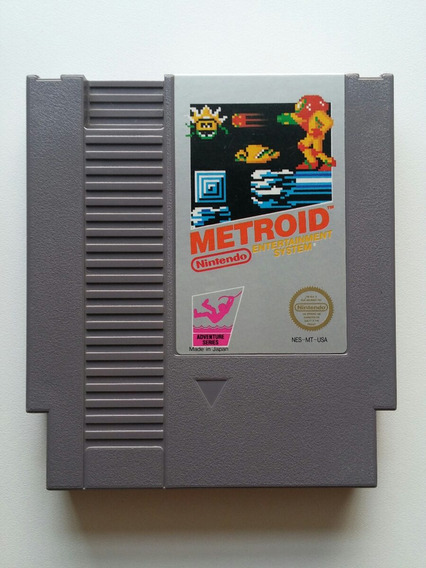 Nes: Metroid Original Americano! Cartucho Novinho! Jogão!
