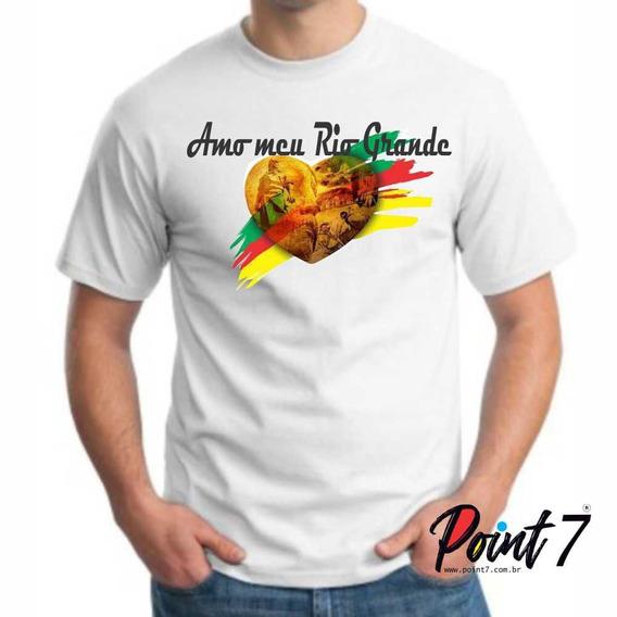 Camiseta Amo Meu Rio Grande