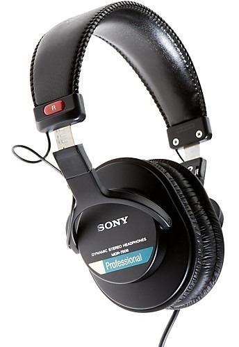 Headphone Sony Mdr7506 Profissional Studio Gravação Acústica