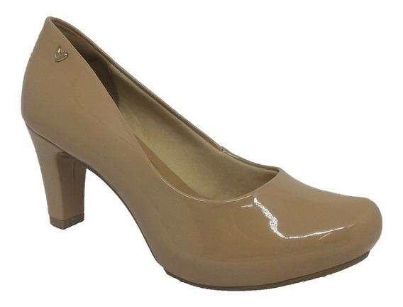 Sapato Feminino Salto Médio Verniz Mississipi X9092