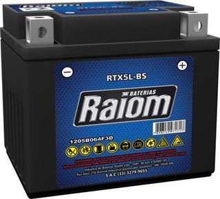 Bateria Raiom Rtx5l-bs Titan Es/titan-150 2006