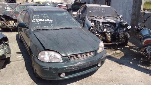Sucata Honda Civic Ex 1.6 Manual 98 Para Retirada De Peças