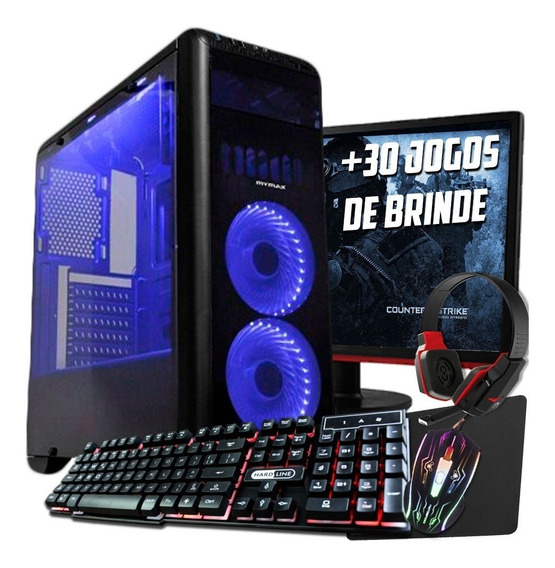 Pc Completo Imperiums Ryzen 5 2400g, Gtx 1060 6gb, Ram 8gb