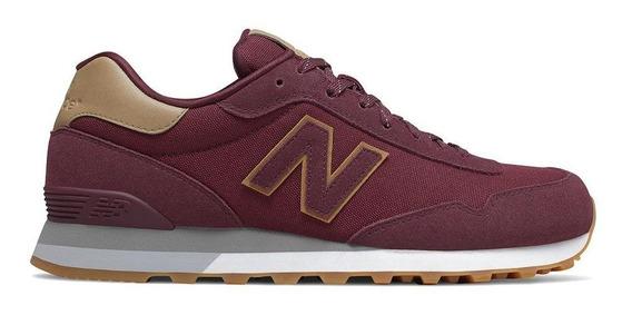 Tênis New Balance 515 Casual Masculino Vermelho