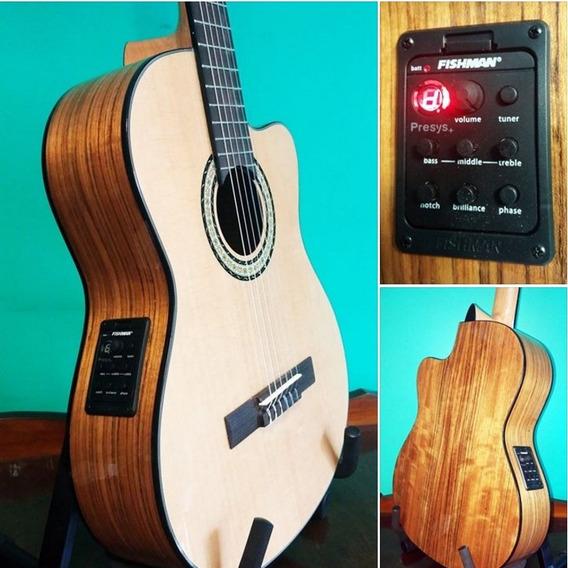 Guitarra Criolla Segovia 1/2 Concierto Ecu Fishman 301