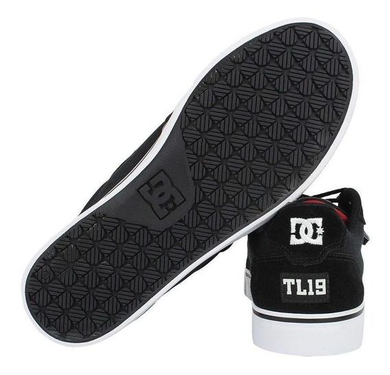 Tênis Dc Shoes Anvil Tiago Lemos Preto/vermelho Promoção