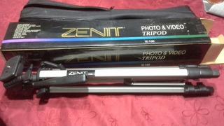 Tripode Foto Y Video Marca Zenit Tz-100 (b30)